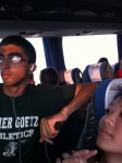 I would fight with everyone to sit beside SASA so he could be my shoulder rest for the bus ride LOOOOOOL #fbf
