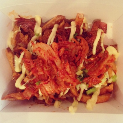 Banh Mi Boys - Kimchi Fries - Probably my new favourite food