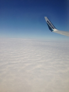 ABOVE THE CLOUDS <3