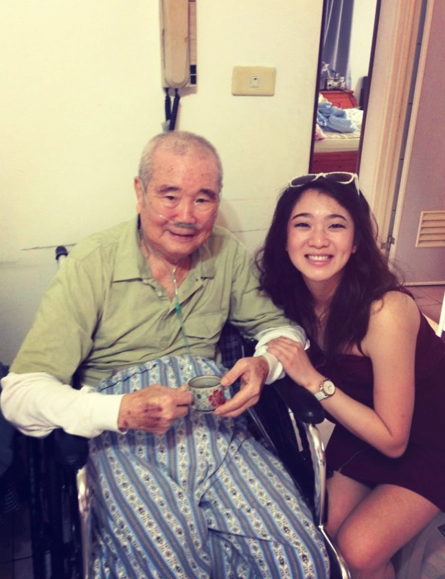I love you, grandpa!! This man taught me how to swim <3 Oh and I also puked in his Mercedes and he still won't let me live it down LOL #HisPrecious