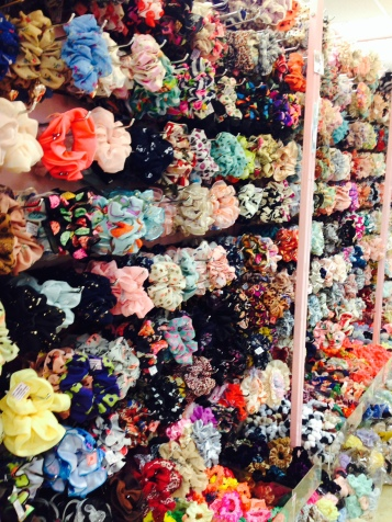 Look at all these hair accessories!!!